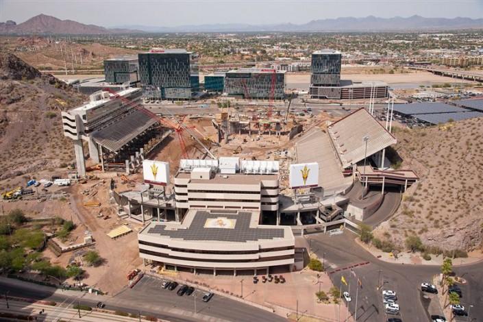 Asu Stadium Phase I Amp Ii Suntec Concrete