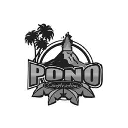 PONO Construction logo